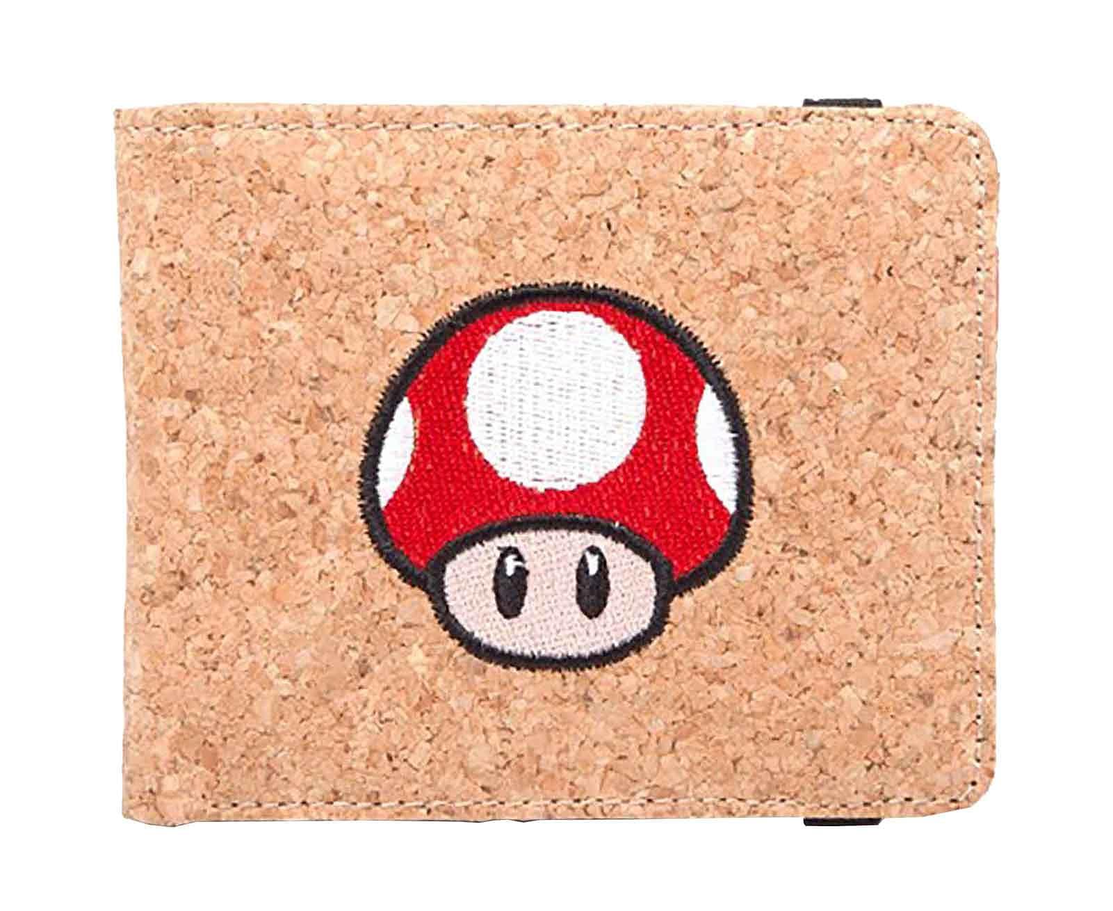Buy Nintendo Wallet Super Mario Mushroom Cork effect ...