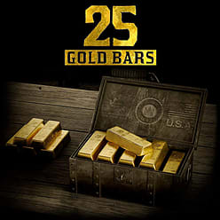 Red Dead Online: 25 Gold Bars