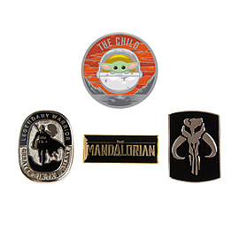 Mandalorian Pin Badge Set
