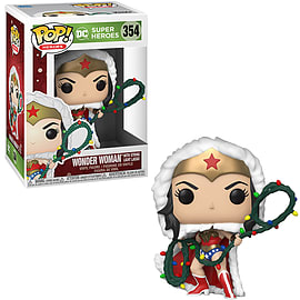 POP! Heroes: DC Holiday - Wonder Women with Lights Lasso