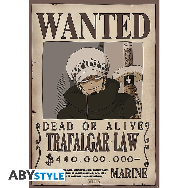 Buy One Piece - Wanted Law Maxi Poster | GAME