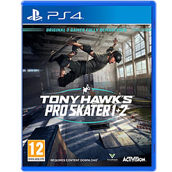 Tony Hawk's Pro Skater 1 & 2 with GAME Exclusive shoelaces