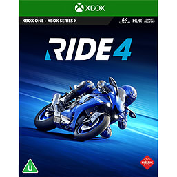 RIDE 4 - with UK Retail Exclusive Pre-order Bonus