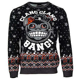 Official Call of Duty Monkey Bomb Christmas Jumper - S