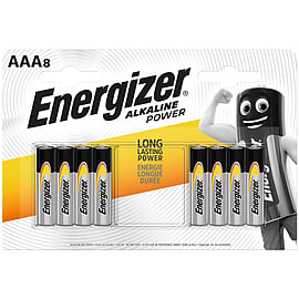 Energizer Alkaline Power AAA 8 Pack