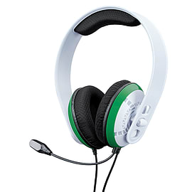 GAMEware Xbox Series X & S and Xbox One White and Green trim Stereo Headset