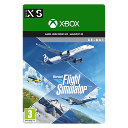 Microsoft Flight Simulator: Deluxe Edition DDC