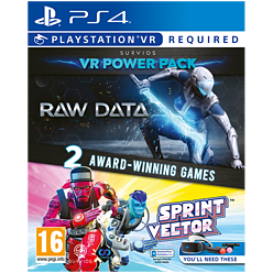 The VR Power Pack: Includes Raw Data + Sprint Vector