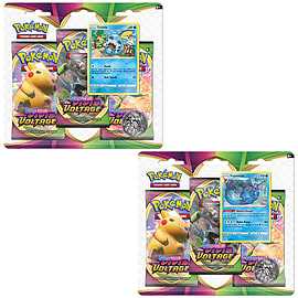 Pokémon TCG: Sword & Shield Vivid Voltage 3-Pack Booster Display