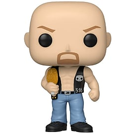 POP WWE: SC Steve Austin w/Belt