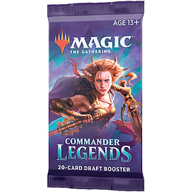 Magic The Gathering: Commander Legends Draft Booster