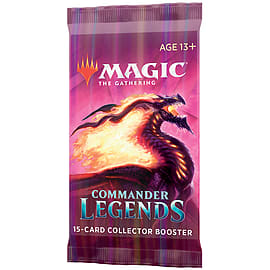 Magic The Gathering: Commander Legends Collector Booster