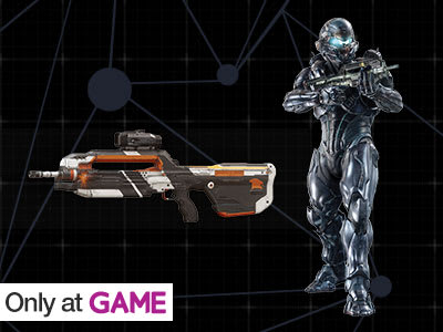 Preorder Bonus: Spartan Locke Armour & Battle Rifle!
