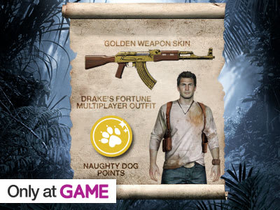 Preorder Bonus: Uncharted 4: A Thief's End!